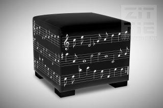 Hocker Muziek Notenschrift