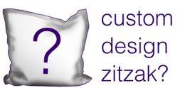 custom design zitzak