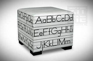 Hocker - Schrijfles Blokletters Alfabet